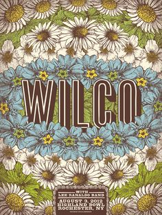 Status Serigraph Wilco - Rochester, NY SOLD OUT