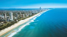 Had to check out Surfer's Paradise while on the Gold Coast in Australia. Bit too touristy for me but still a beautiful beach and neat to see. Gold Coast Australia, Australia Beach, Australia Travel, Queensland Australia, Brazil Travel, Best Vacation Spots, Best Vacations, Sunshine Coast, Sunshine State