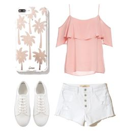 """""""Summer // 2017 💜"""" by amycgraham3 on Polyvore featuring Sonix, BB Dakota and Hollister Co."""
