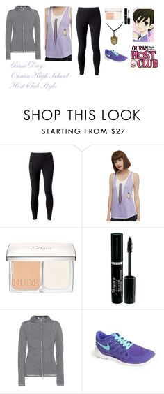 """""""Game Day: Ouran High School Host Club Style"""" by charbear231 ❤ liked on Polyvore featuring Jockey, Christian Dior, Callens and NIKE"""