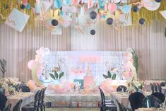 """Joanne's """"Memphis Design"""" Inspired Party – Stage Pet Cafe, 90s Theme, Memphis Design, 80s Party, 1st Birthdays, Party Themes, Party Ideas, Stage Design, Christening"""