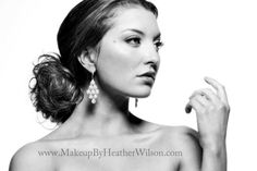 Makeup by Heather Wilson    beauty, earrings, lashes