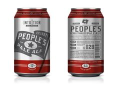 Packaging: Intuition Ale works