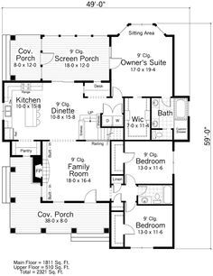 From Magnolia Homes Waco TX (Joanna Gaines of Fixer Upper) COTTAGE FLOORPLAN UPDATED Dream
