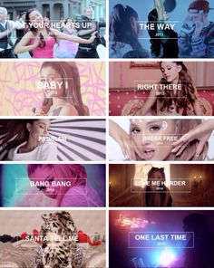 These past years... Now Ariana Grande is a Queen//Pinterest: @heyitsmidnight