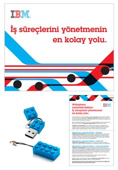 IBM Direct Mailing by Gokhan Gurkan, via Behance
