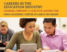 Join us in person or online at this event to network and explore career options in education.