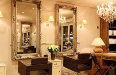Shabby chic hair salon