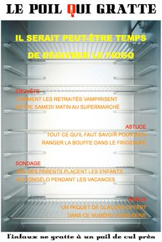 [LPQG Niouzes] Il serait peut-être temps de dégivrer le frigo