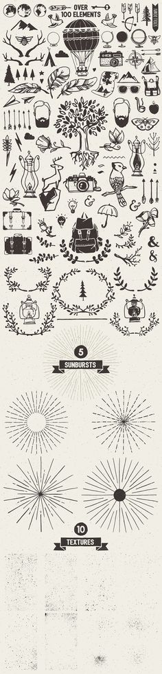 Wanderlust Logo Pack by Stella's Graphic Supply on Creative Market