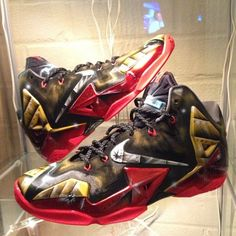 various colors fb5cc 4f4b9 nike lebron 11 mach 6 customs 01 570x570 Nike LeBron 11 Mach 6 by Dez  Customs