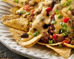 Cheesy Chili Nachos Recipe
