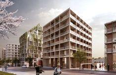 Kjellander + Sjöberg Architects - Living on the Wedge - Streetview