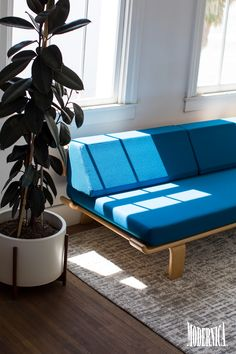 Modernica Case Study® Alpine Daybed / Modern Furniture Made In California 1  Bedroom Apartment,