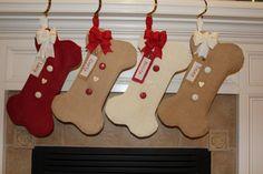 ready to ship christmas stocking personalized christmas stocking family christmas stockings burlap stocking holidays pinterest burlap bows dog - Dog Stockings For Christmas