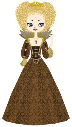Anne of Austria, queen of France by marasop on DeviantArt