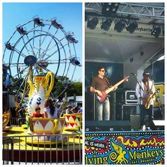 Soaking up the sun and #sounds of the #BarrieWaterfrontFestival this #weekend! #midway #livemusic #foodtrucks #buskers #vendors #rides #lakeshore #LakeSimcoe #DowntownBarrie @theflyingmonkeys #VisitBarrie #getoutandplay