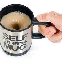 Cool Self Stirring Mug Cup