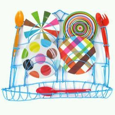 Kitsch Kitchen - dishrack