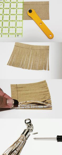 This post may contain affiliate links.  This photo tutorial illustrates how to make a tassel.Tassels are great to add a professional look to your handmade bags and they are very easy to make. Thanks toLisa PereafromCork and Clothfor sponsoring … Read More