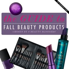 8 new fall beauty products you need to know about!