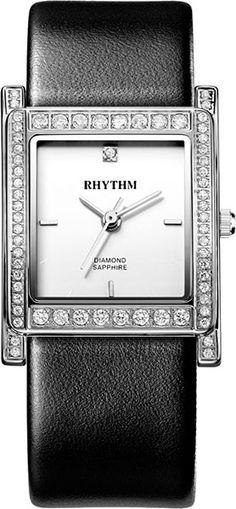 Женские часы Rhythm L1204L01 Sapphire, Watches, Diamond, Accessories, Wristwatches, Clocks, Diamonds, Jewelry Accessories