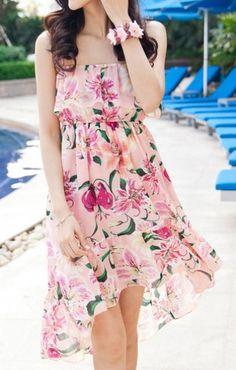 Floral Beach Dress, Happy Pinning, enjoy!
