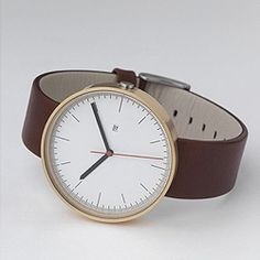 Uniform Wares makes super clean and desirable watches. Also available in various colors.