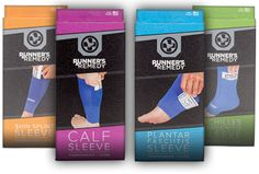 Runner's Remedy compression/ice packs