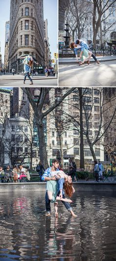 Beautiful Dancing in the City love photo shoot! von Sandra Marusic Photography