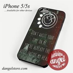 Blink 182 Lyrics 2 Phone case for iPhone 4/4s/5/5c/5s/6/6 plus