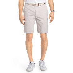 Men's IZOD Classic-Fit Seersucker Shorts, Size: 32, Med Beige