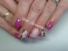 rose - nails -