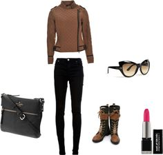 """""""Rugged Chic Look"""" by ms-sherlonda on Polyvore"""