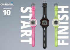 Garmin Introduces the Entry-Level Forerunner 10 GPS Watch for Runners