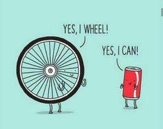 Optimistic puns