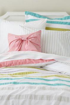 Sherbet Stripes Bedding