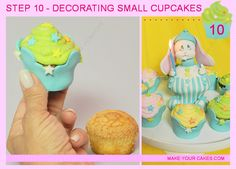 How To Make a 3D Bunny Shaped Cupcake