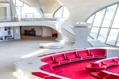 On May 15, JFK's TWA Flight Center Hotel, set inside Eero Saarinen's iconic midcentury terminal, officially opened to the public.