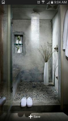 Spa type shower