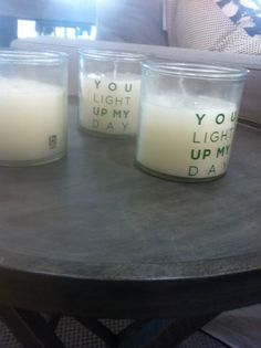 You light my day