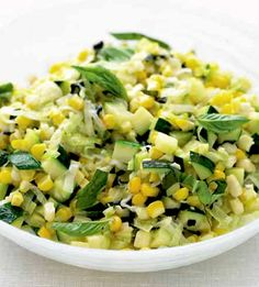 Sautéed Zucchini and Corn Vegetables bring vibrancy to the table ...