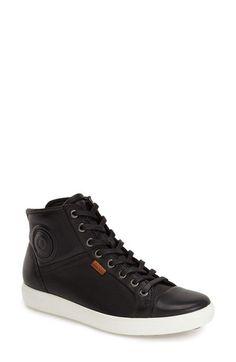 san francisco 98fd4 a2bd9 ECCO  Soft 7  High Top Sneaker (Women) available at  Nordstrom Kenkäpeli