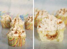 Salted Caramel Cupcakes - Cupcake Fanatic