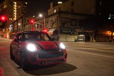 Guerlain Chicherit takes the wheel of The New MINI John Cooper Works. Click to find out what happened next.