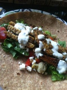 Make and share this Tempeh Gyros and Tzatziki recipe from Food.com.