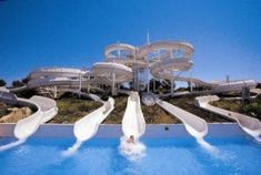 Magaluf - We went on this slide during a thunder storm, complete with lightning!