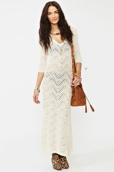 Freewheelin' Crochet Dress