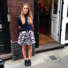 London Style   Beautiful Staff member from Start Boutique wearing Beau Coops LIZIE cut out ankle Boots!  www.beaucoops.com #beaucoops