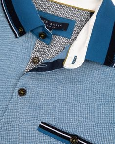 Oxford polo - Light Blue | Tops & T-shirts | Ted Baker UK